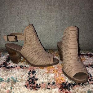 Jessica Simpson booties worn twice